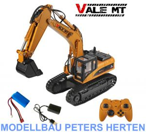 Vale MT RC-Metall-Bagger - RTR - 1:14 Scale