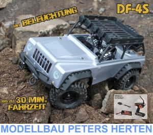 DF-4S Scale-Crawler mit Beleuchtung - SILVER Edition