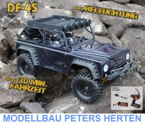 df Models DF-4S Scale-Crawler mit Beleuchtung - SILVER Edition - 3084 Abb. 1