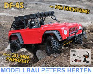 df Models DF-4S Scale-Crawler mit Beleuchtung - BLACK Edition - 3085 Abb. 1