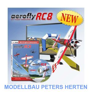 Ikarus aeroflyRC8 (DVD für Windows) - 3091001 Abb. 1
