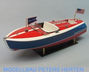 Krick Chris-Craft Sportboot 16 ft. Painted Racer Bausatz abb 1