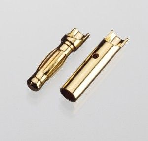 robbe Goldkontaktstecker 3,5mm Stecker - 4117