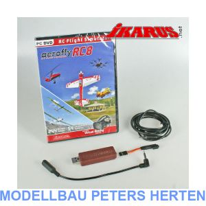 Ikarus Set: aerofly RC 8 mit Interface für Spektrum - 3091014 Abb. 1