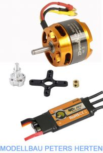 D-Power Brushless Set AL3530-8 & 40A Comet Regler   - AL35308S abb 1